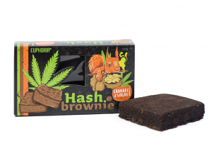 Brownie Cannabis & Walnut 50 g