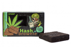 Brownie Cannabis & Rum 50 g