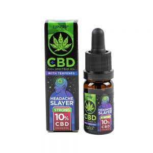 Euphoria CBD 10% Headache Slayer z terpenami 10 ml