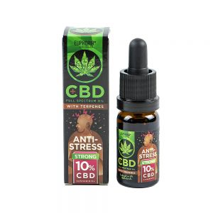 Euphoria CBD 10 % Antistress z terpenami 10 ml