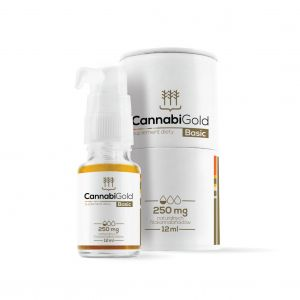 CannabiGold Basic 250 mg 12 ml