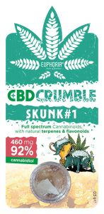 CBD CRUMBLE SKUNK1 460 mg CBD 0,5 g